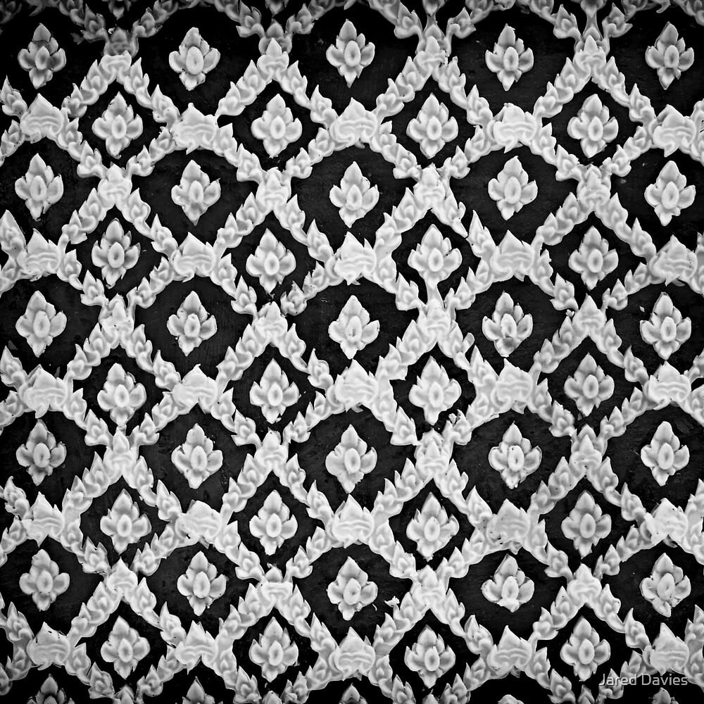 Asian Ornamental Pattern (Black) by MilitaryCandA