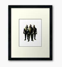 The Ice Warriors Framed Print