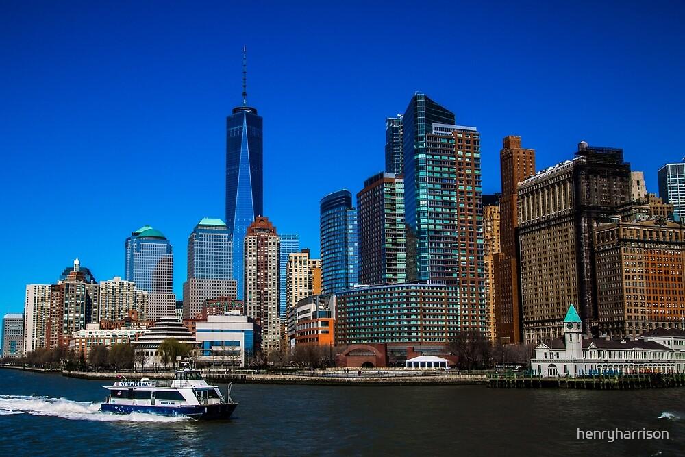 Downtown Manhattan by henryharrison