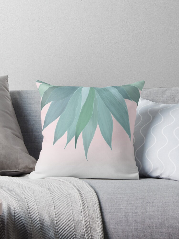 Delicate Agave Fringe Illustration by oursunnycdays