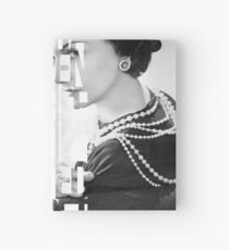 Coco Chanel and Poiret Hardcover Journal