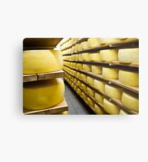 Cheese drying Metal Print