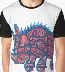 rhinoceros on wheels Graphic T-Shirt