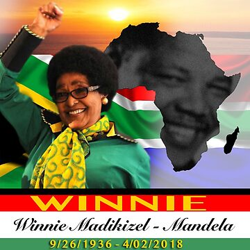 Winnie Madikizela Mandela 9/26/1936 - 4/02/2018 by GOE98