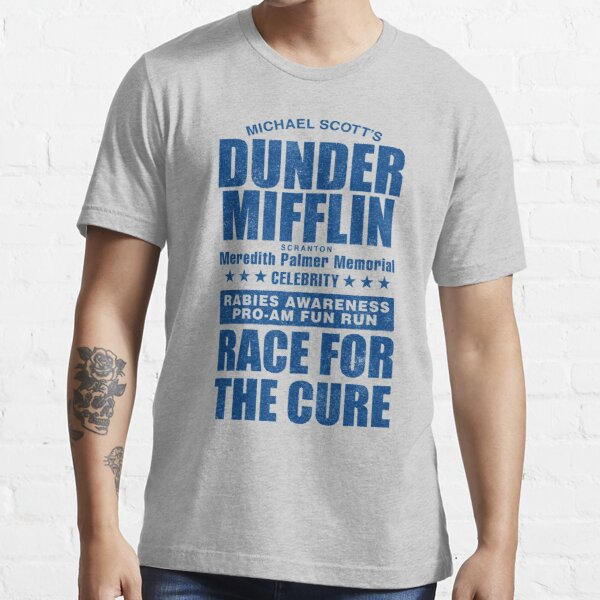 Dunder Mifflin Rabies Awareness Race for the Cure Essential T-Shirt