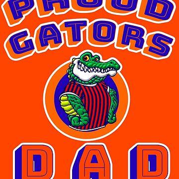 Proud Florida Gators Dad by BestStuffDepot