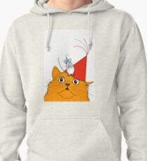 Cat & Mouse Party Fun ! Pullover Hoodie