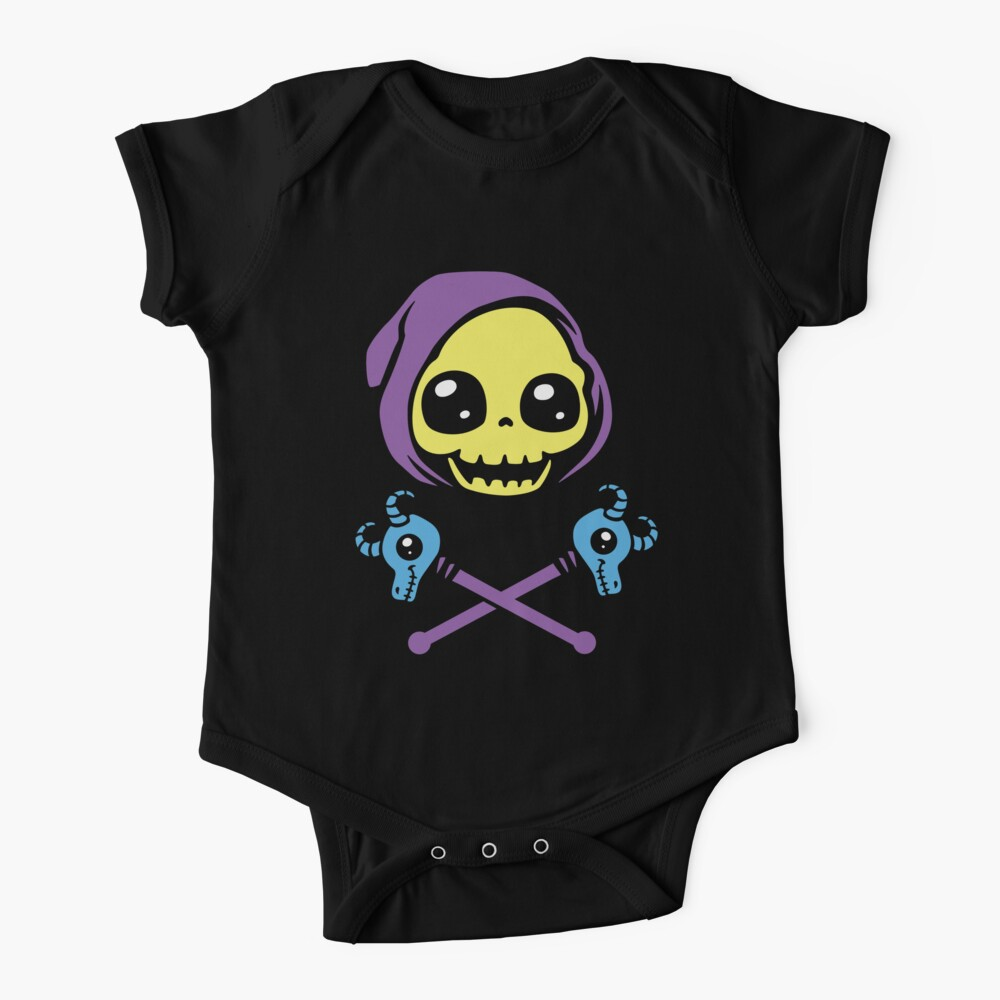 Skeletaww and Crossbones Baby One-Piece
