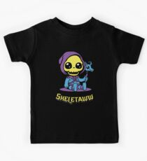 Cute Skeletor - Skeletaww Kids Tee