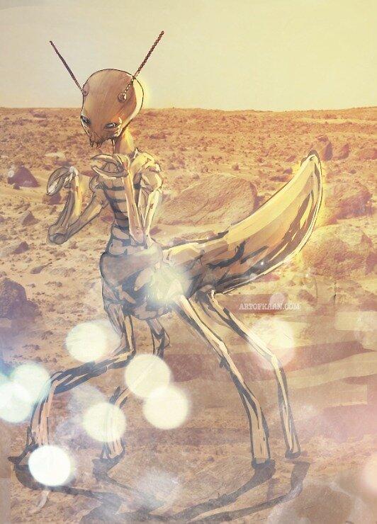 Mars Mantid by Burster