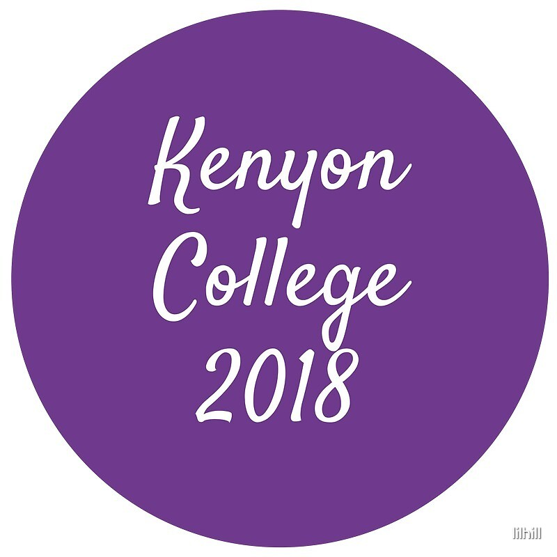 Kenyon College - Class of 2018 by lilhill