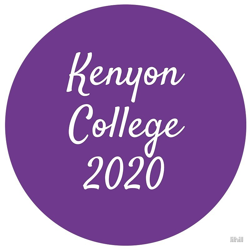 Kenyon College - Class of 2020 by lilhill