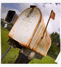Rural Mailbox Poster