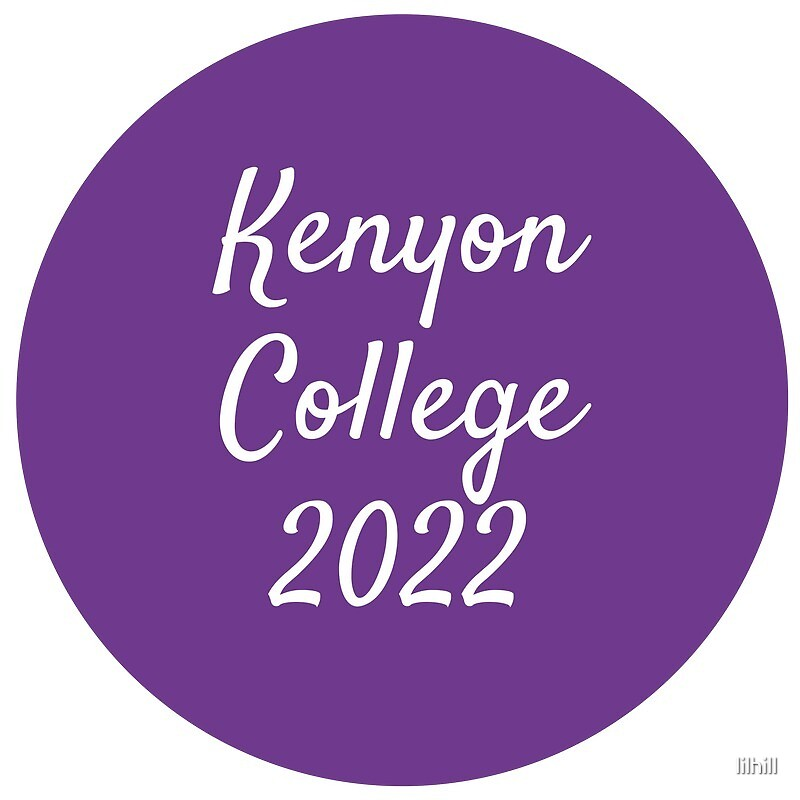 Kenyon College - Class of 2022 by lilhill