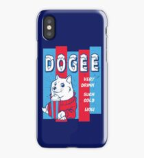 DOGEE - VERY DRINK, SUCH COLD, WOW iPhone Case
