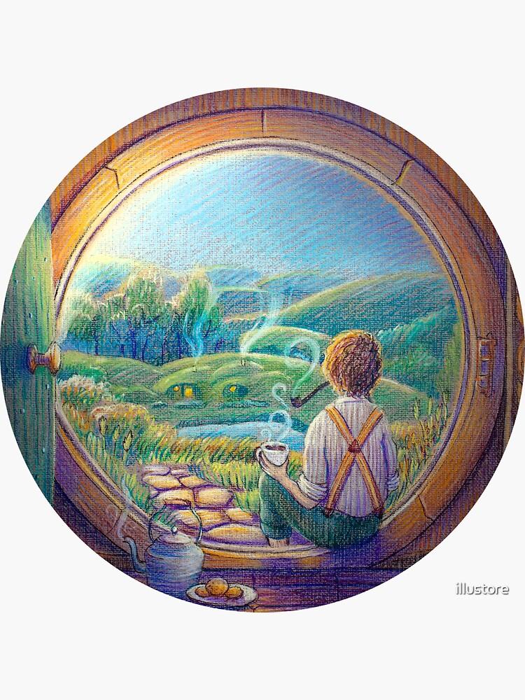 Tolkien Tea Time by illustore