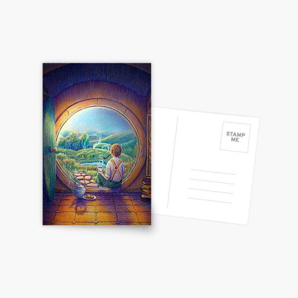 Tolkien Tea Time Postcard