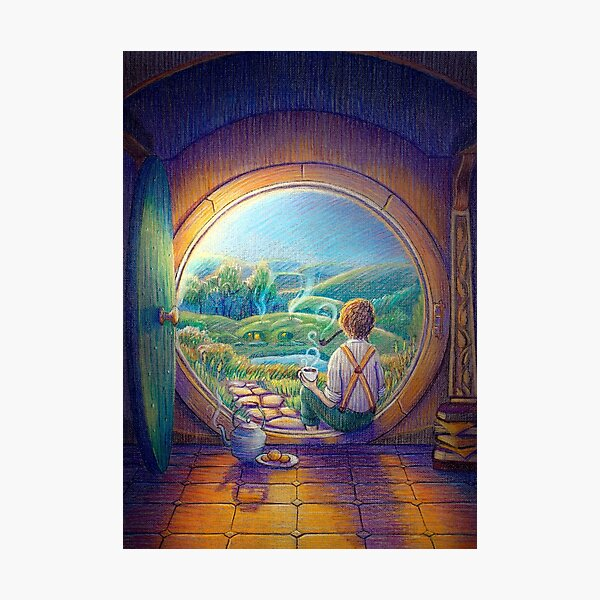 Tolkien Tea Time Photographic Print