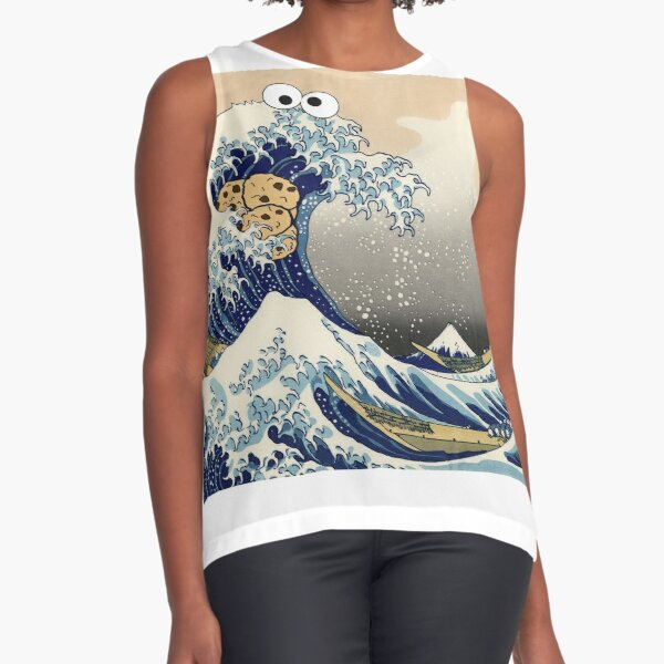 Sea is for Cookie Sleeveless Top
