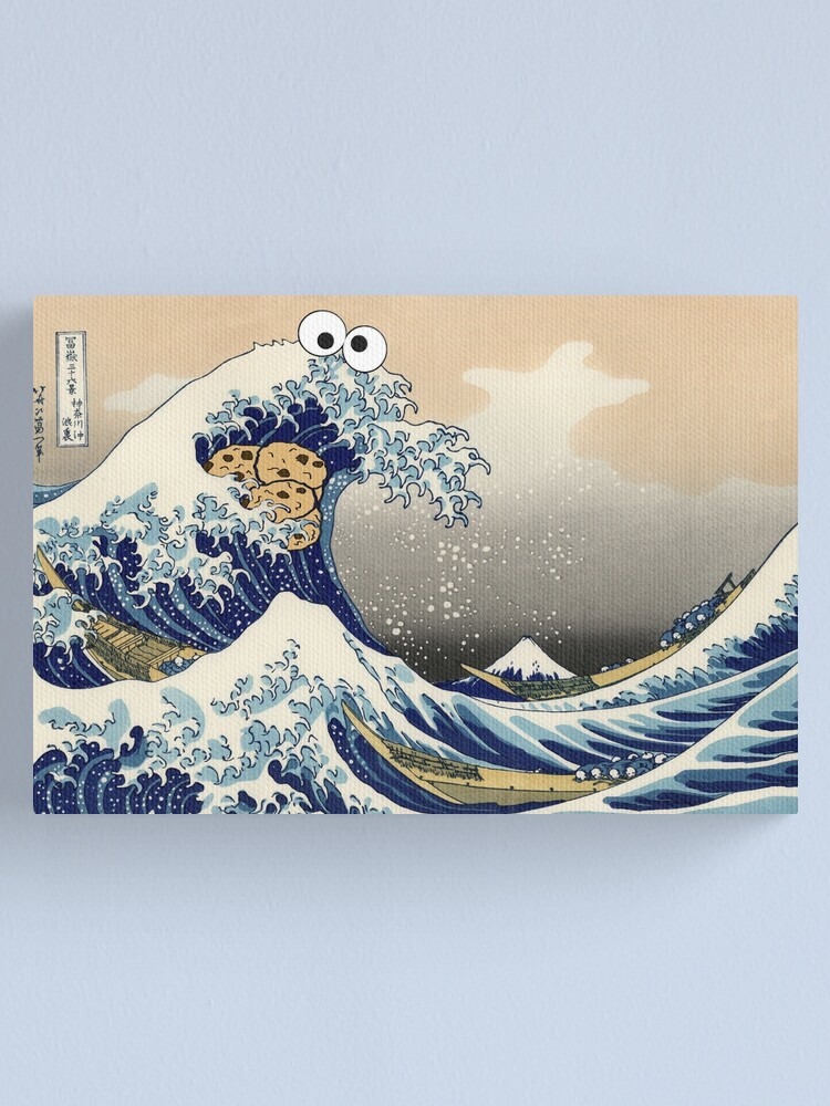 Alternate view of Sea is for Cookie Canvas Print