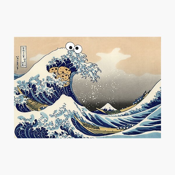 Sea is for Cookie Photographic Print