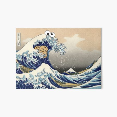 Sea is for Cookie Art Board Print