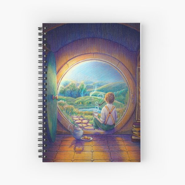 Tolkien Tea Time Spiral Notebook