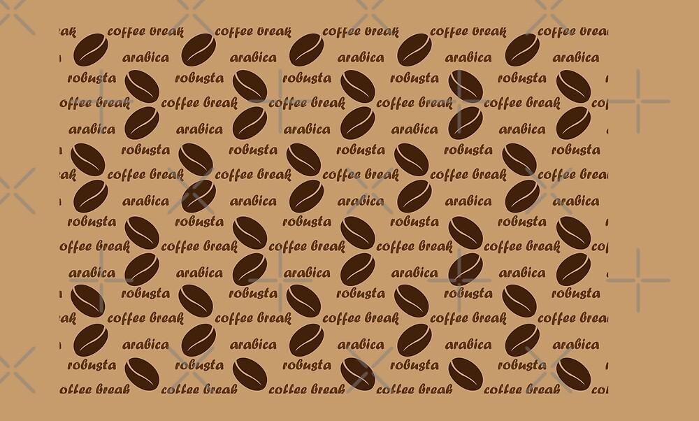 Coffee  pattern by Danler