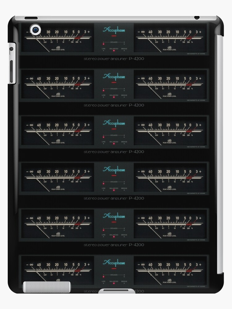 Accuphase P-4200 - VU meters by Xcess