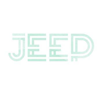 Menta Acuarela Jeep Design de jashirts