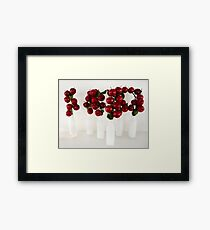 Apples in Jars Framed Print