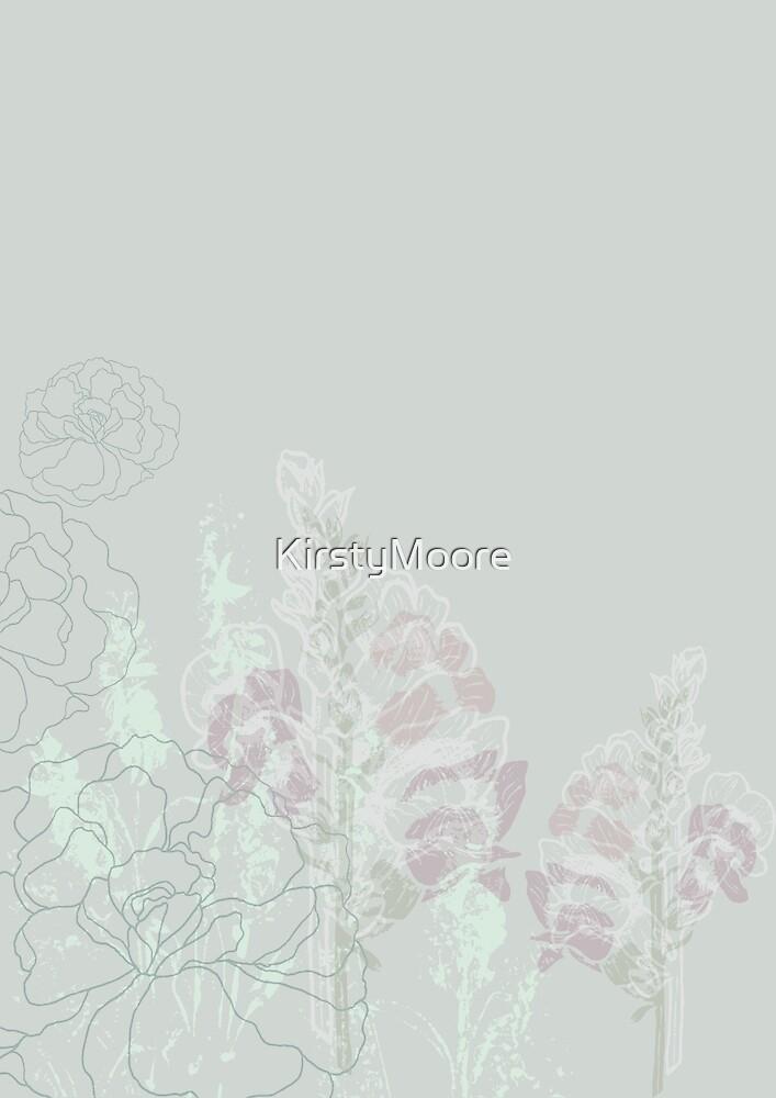 Pastel Antirrhinums by KirstyMoore