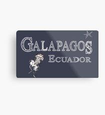 Galapagos  Ecuador Metal Print