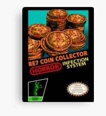 RE7 Coin Collector Cartridge  Canvas Print