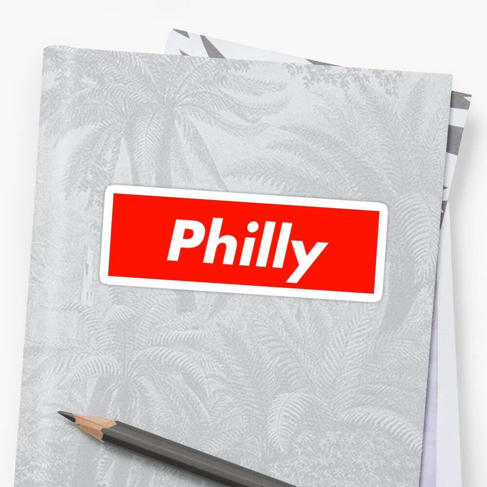 Philly Supreme Box Logo by kaylee-grace