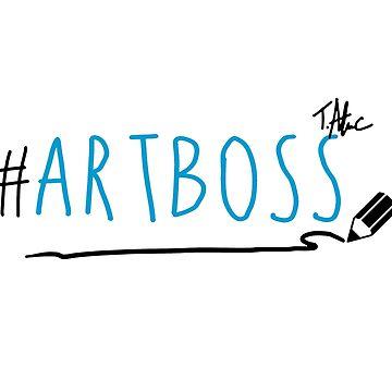 ArtBoss Blue by TerryAlecStore