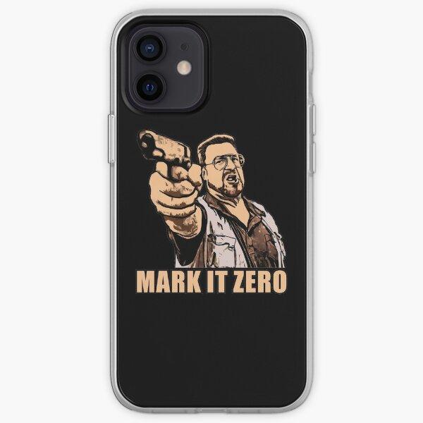 mark it zero walter sobchak iPhone Soft Case