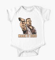 mark it zero walter sobchak One Piece - Short Sleeve