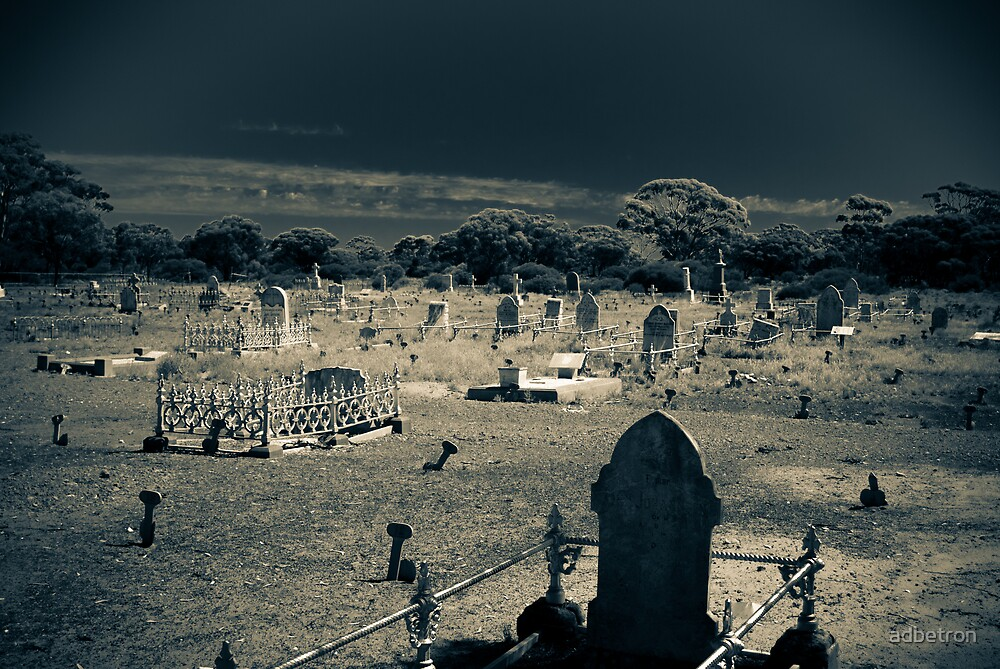 Coolgardie Cemetary by adbetron