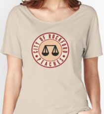 ROCKFORD PEACHES  Women's Relaxed Fit T-Shirt