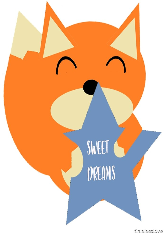 Sweet Night Fox by timelesslove