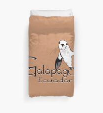 Galapagos Ecuador Sea Lion  Duvet Cover