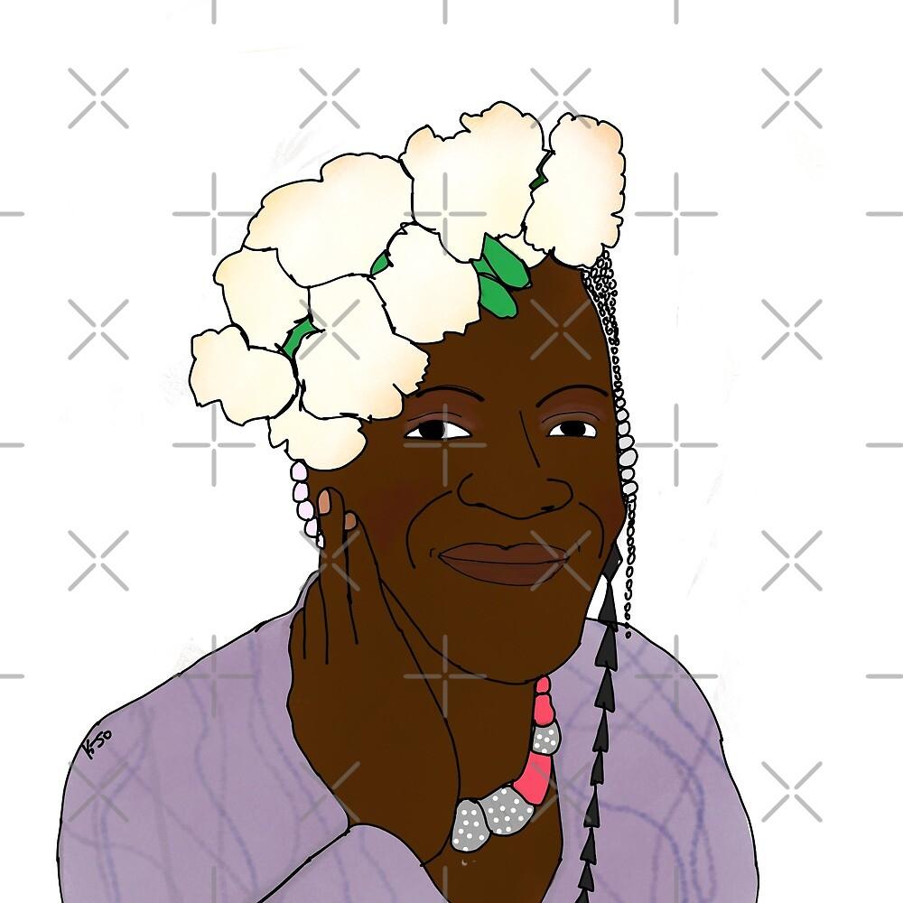 Marsha P. Johnson by Kalila Jones