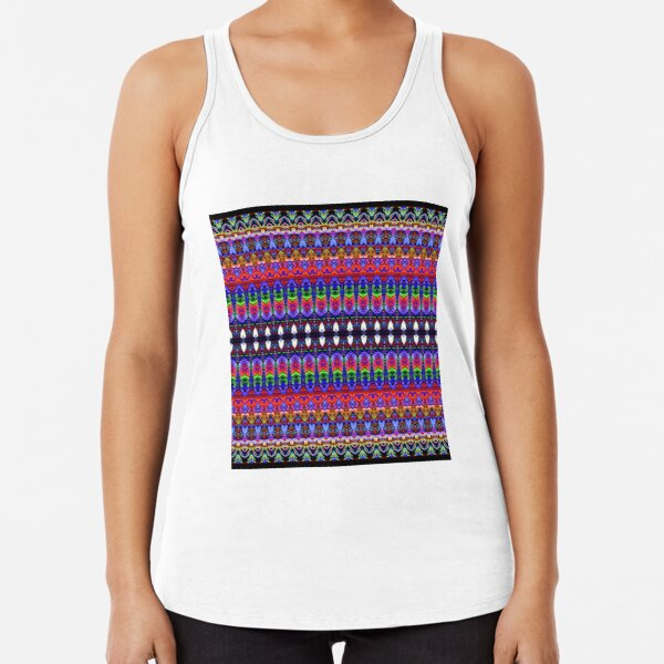 Sample, specimen,   model, example, piece, figure, type, form Racerback Tank Top