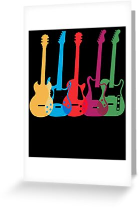 Colored electric guitar guitarists tshirt guitar gifts for men colored electric guitar guitarists tshirt guitar gifts for men guitar gifts for her m4hsunfo
