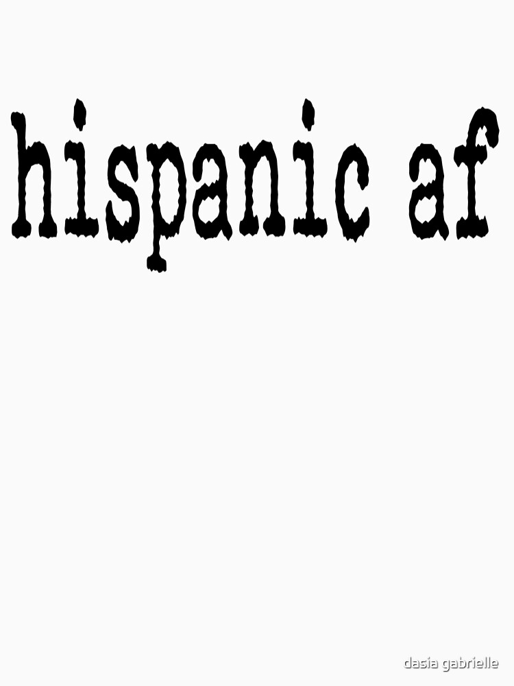hispanic af by dasiahines