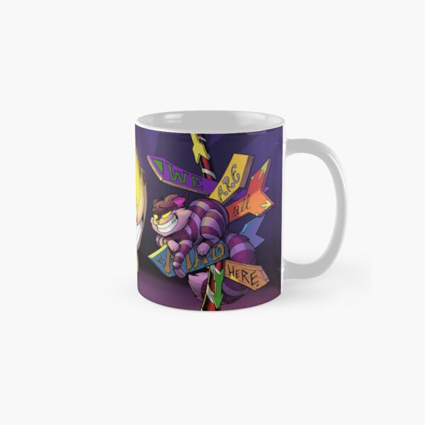 Stopping for Directions in Wonderland Classic Mug