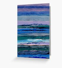 Abstract Composition 628 Greeting Card