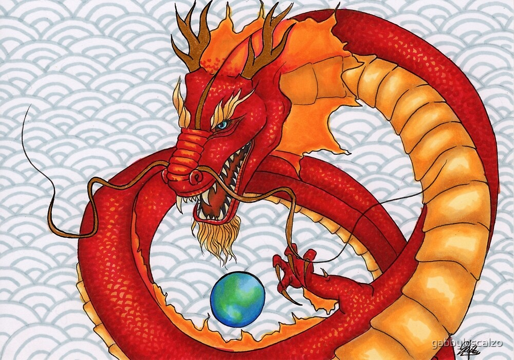 The Red Dragon by gabbyloscalzo