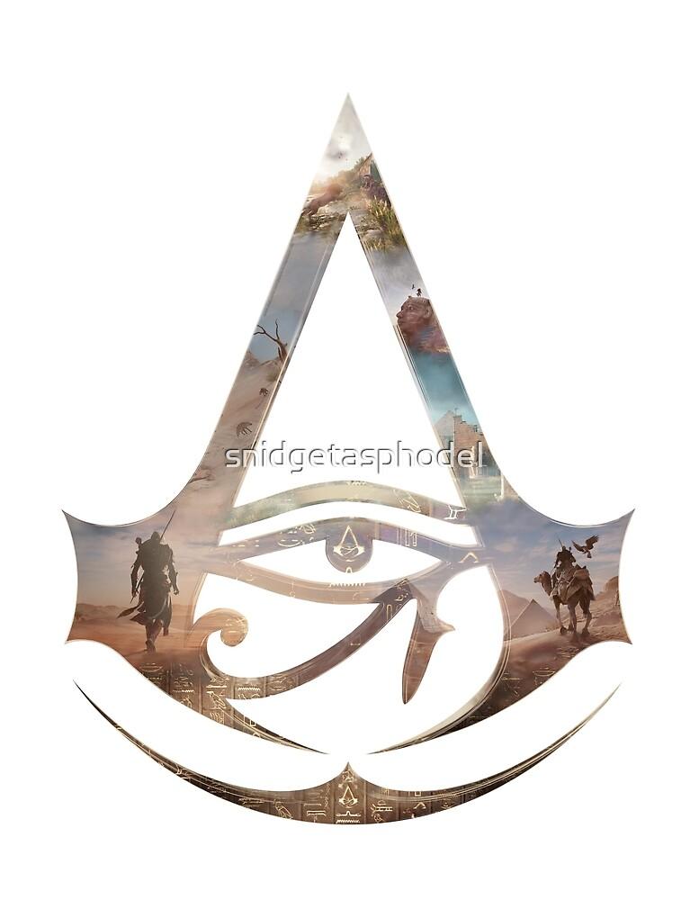 Bayek Egypt Assassin Epicscape by snidgetasphodel